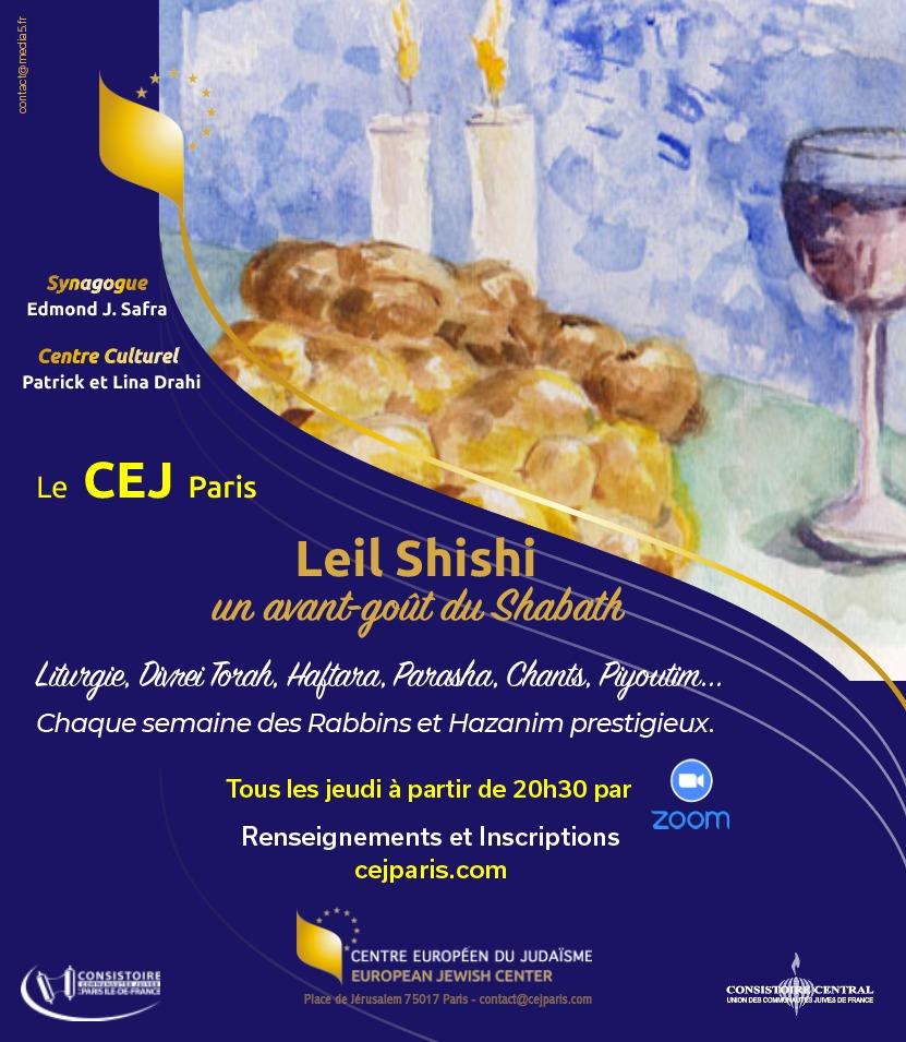 Leil Shishi, un avant-goût du Shabath